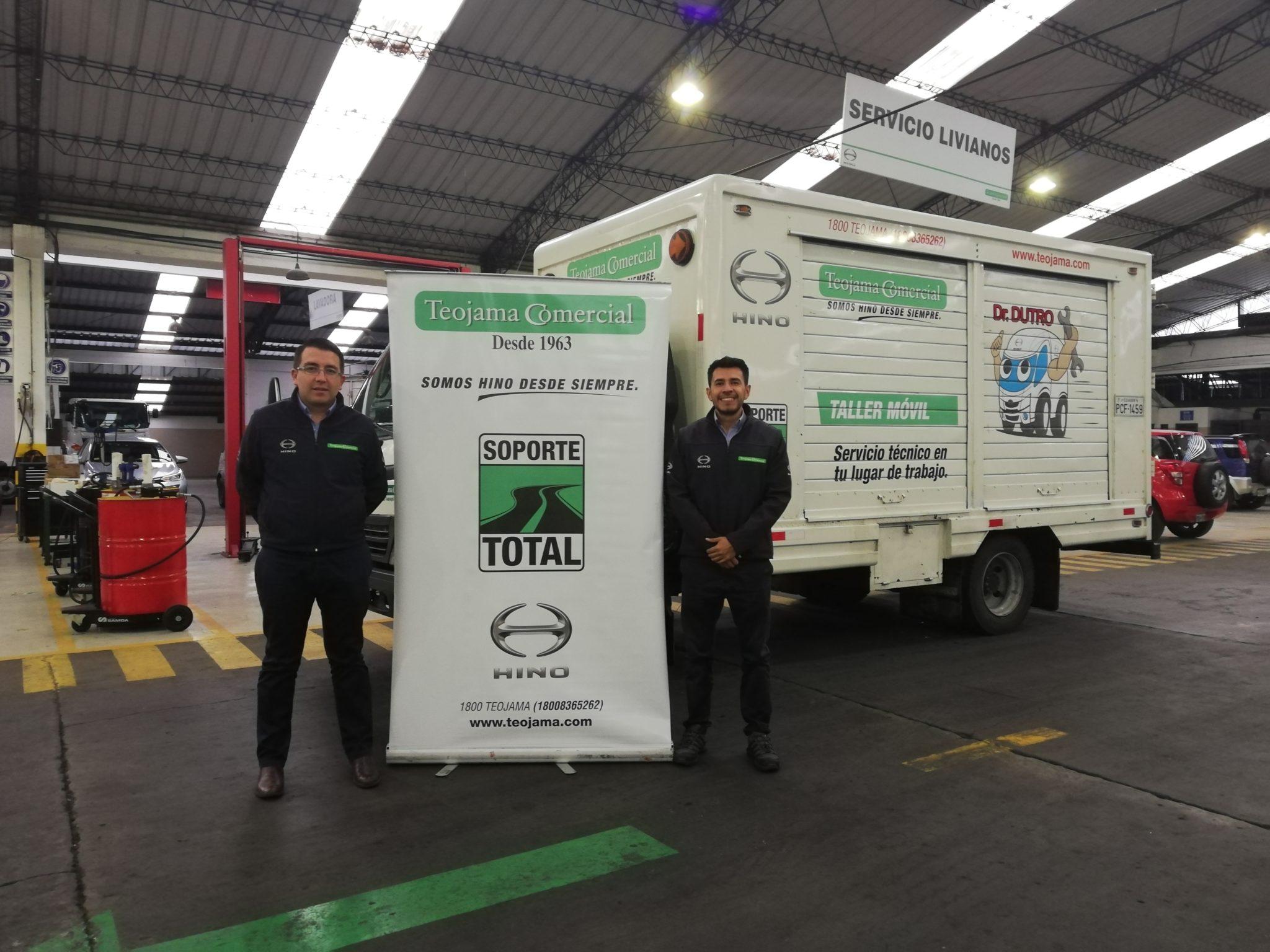 Teojama comercial servicio de talleres móviles